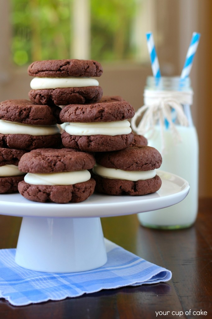 The Best Soft Homemade Oreos
