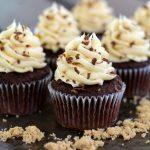 Chocolate Brown Sugar Cupcakes
