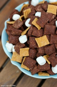 Smores Puppy Chow