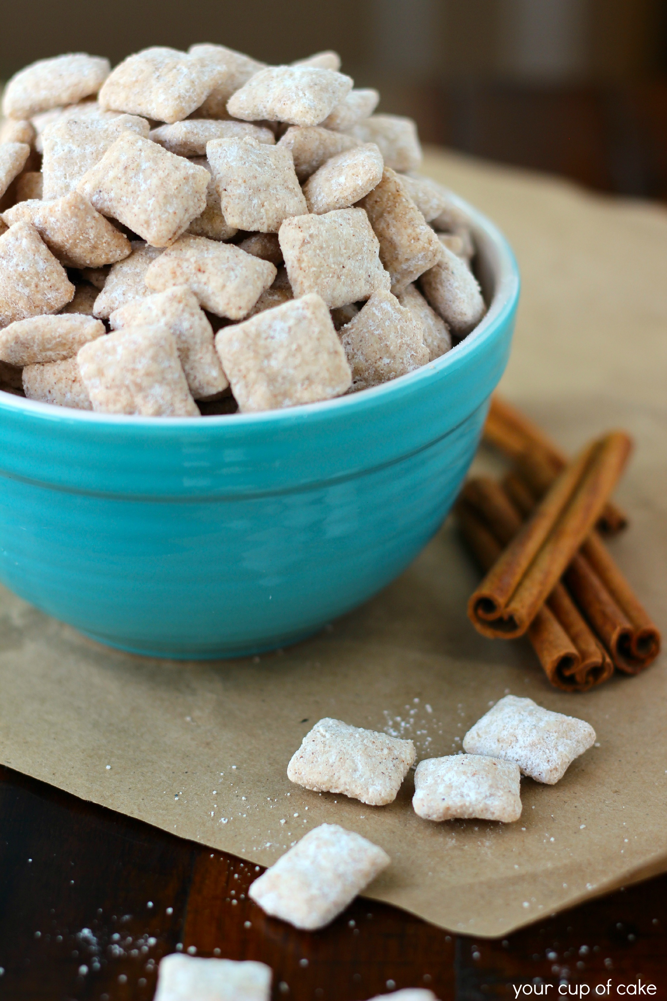 Snickerdoodle Puppy Chow Your Cup Of Cake