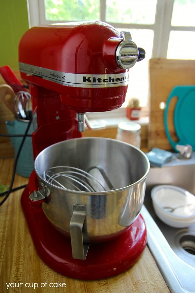 Big Red Kitchen Aid