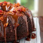 Chocolate Bacon Bundt Cake