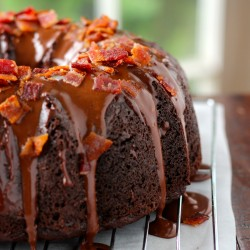 Chocolate Bacon Bundt