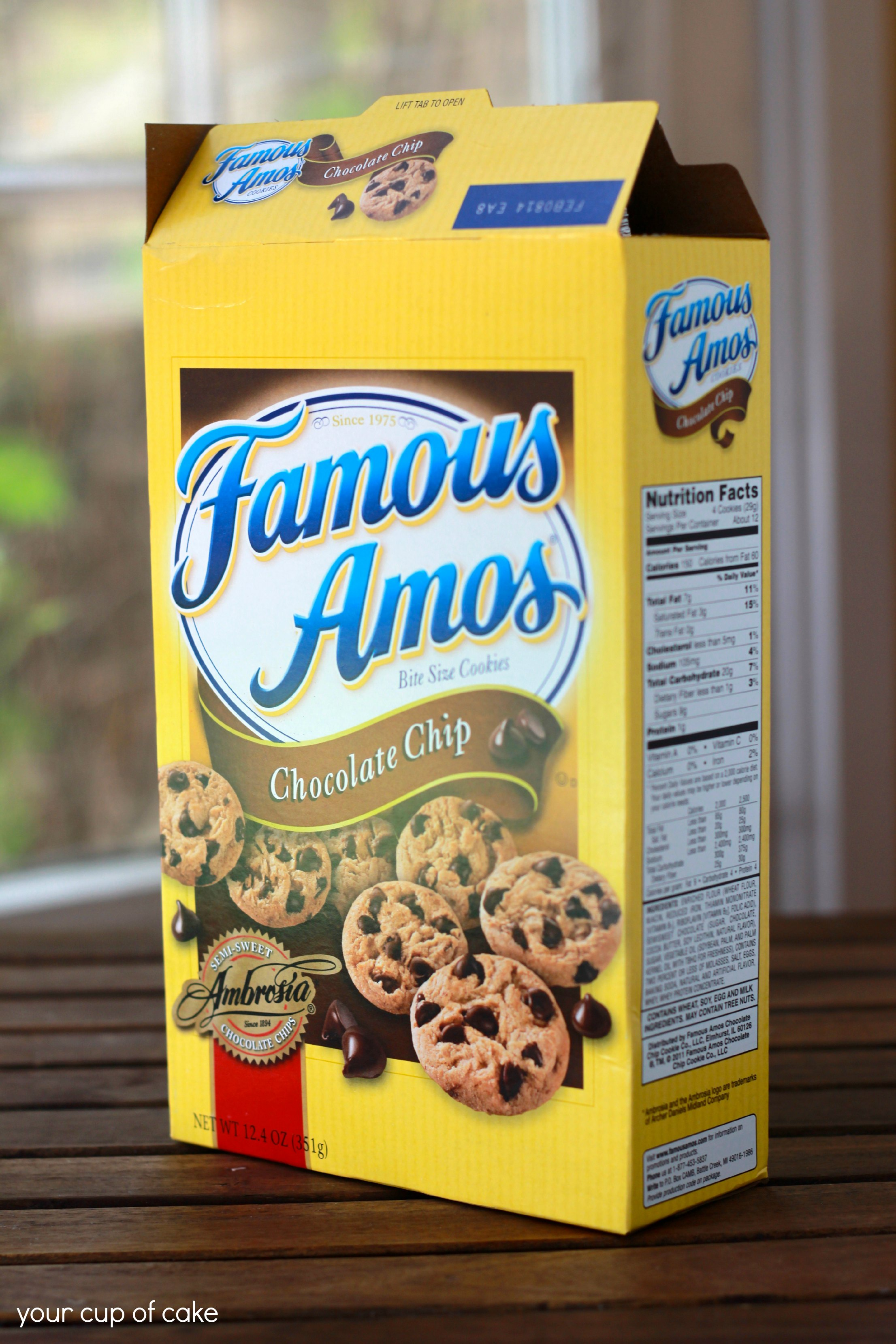Famous Amos Cookie Recipe Singapore