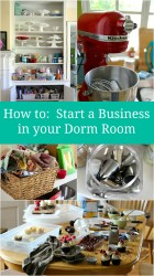 How to start a business in your dorm room