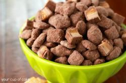 Chocolate Caramel Apple Puppy Chow