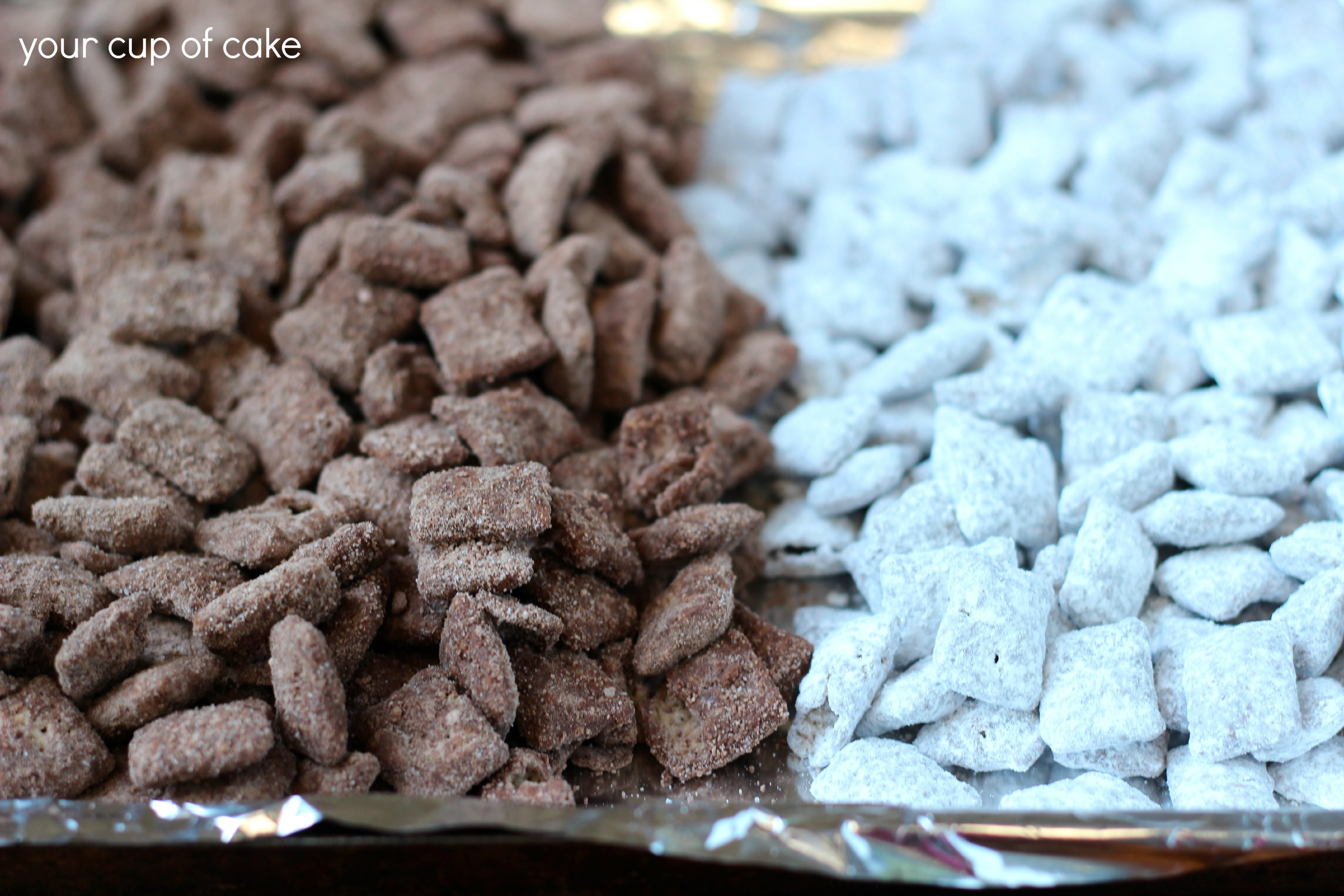 Halloween Puppy Chow...take 2 - Your Cup of Cake