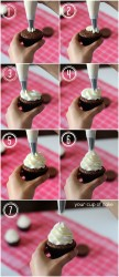 How to pipe a cupcake