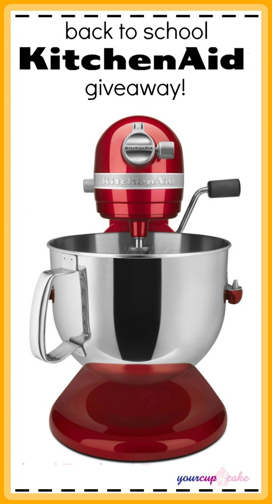 KitchenAid Giveaway fixed