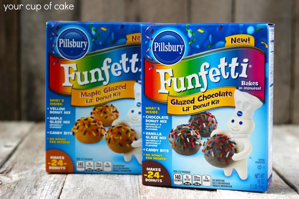 Pillsbury donut kits