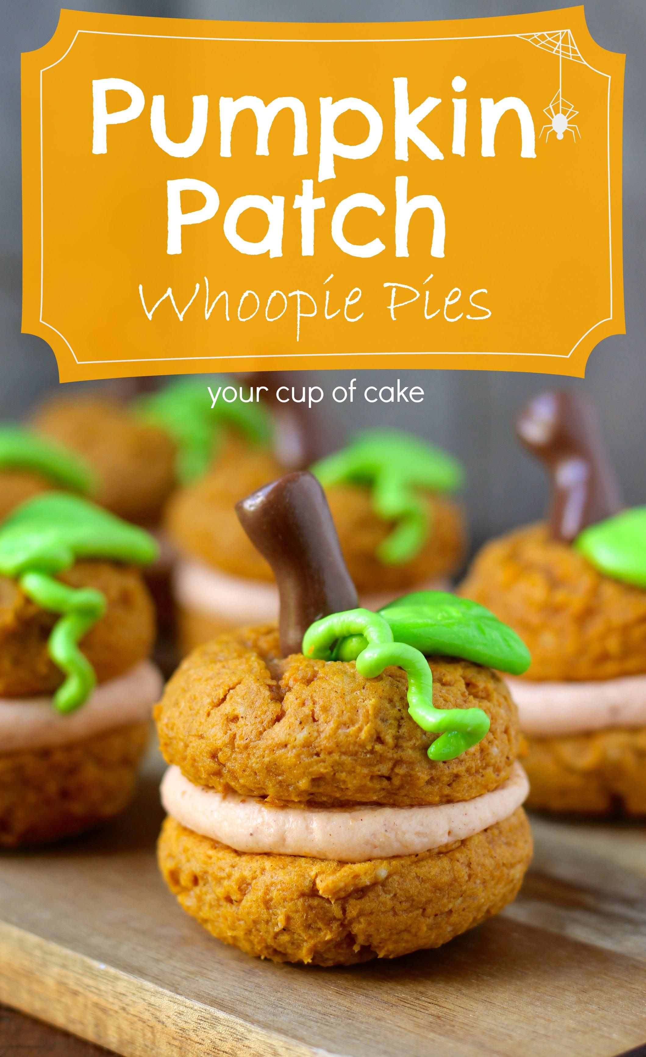 Pumpkin Patch Whoopie Pies