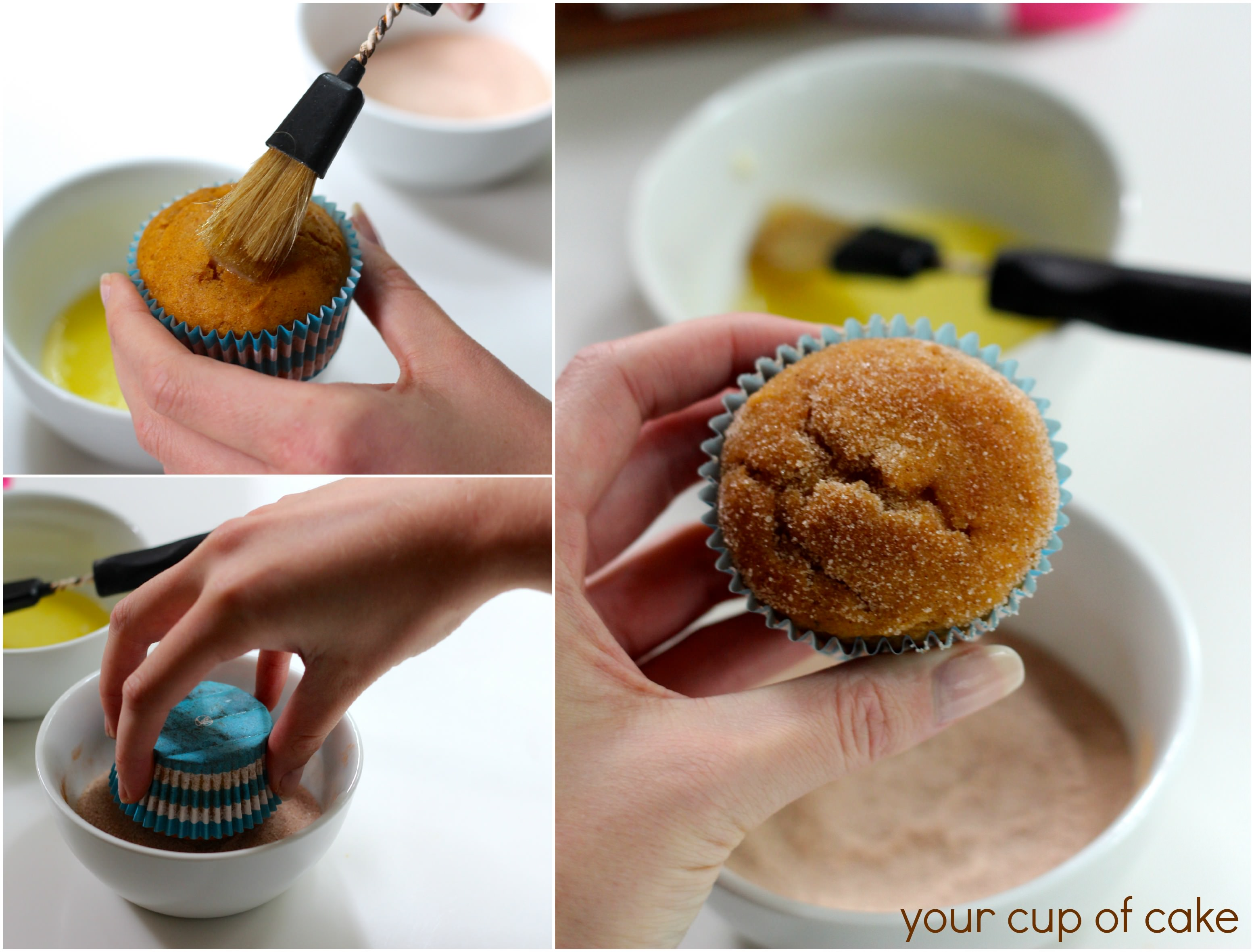 Pumpkin Cupcake Recipes pumpkin snickerdoodle cupcakes - your cup of cake