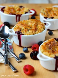 The easiest cobbler you'll ever make