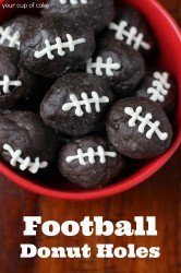 football donuts