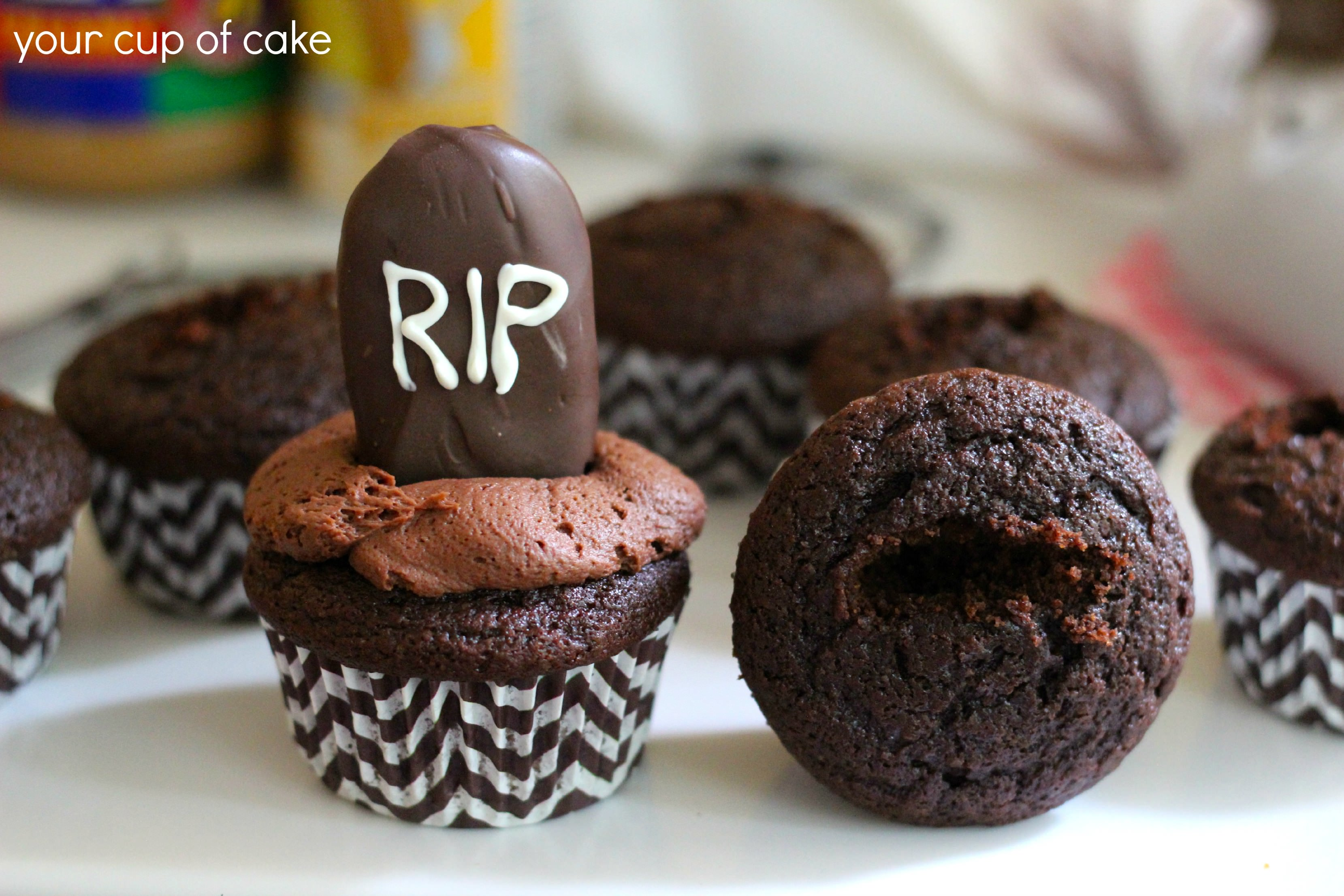 Creepy Crawler Halloween Cupcakes Recipes — Dishmaps
