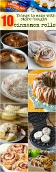 10 things to do with store bought cinnamon rolls