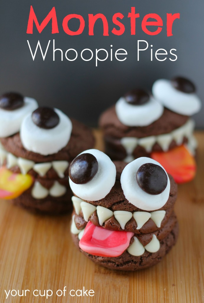 Monster Whoopie Pies