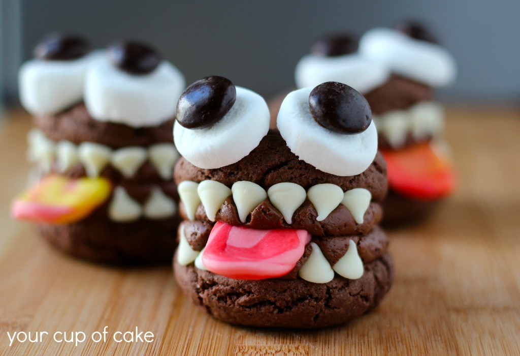 Monster whoopie pie for halloween