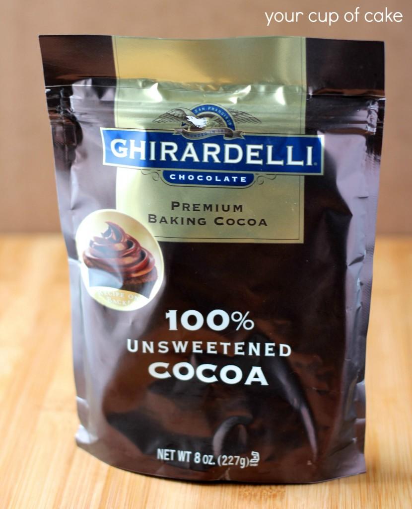 ghiradelli unsweetened cocoa