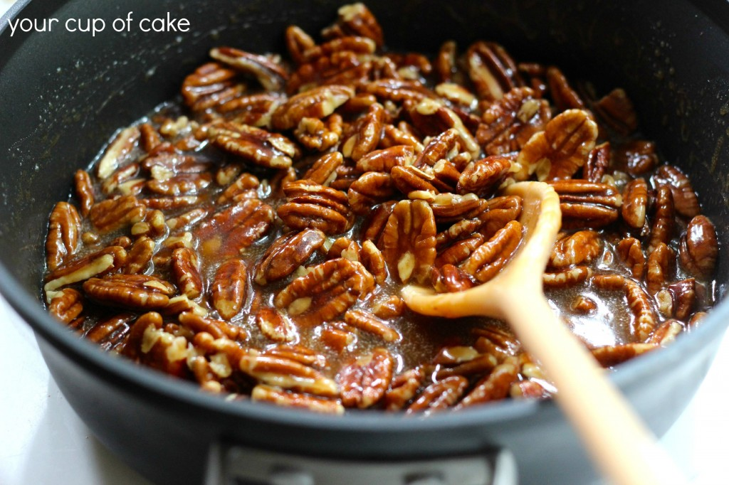 pecan pie bar filling