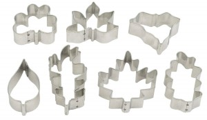 Mini Leaf Cookie Cutters