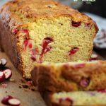 Eggnog Cranberry Bread