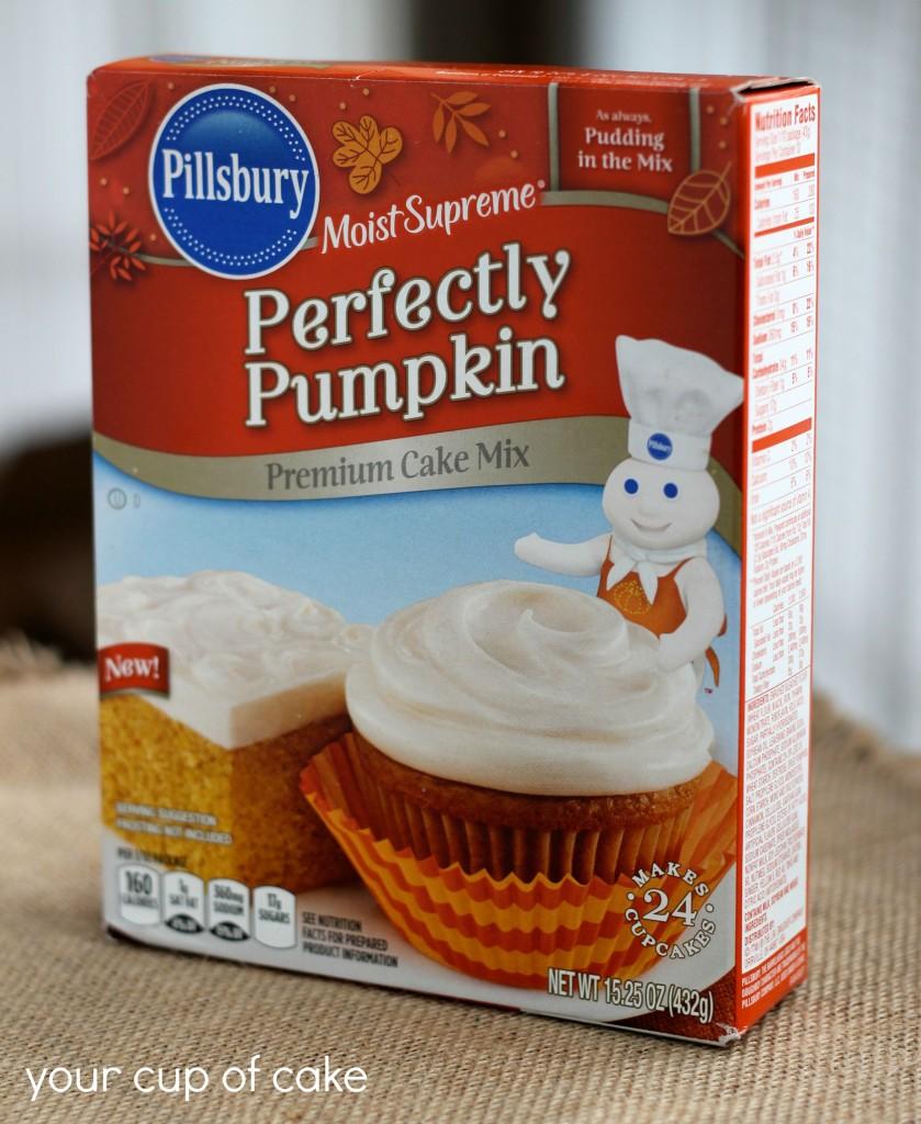 pillsbury pumpkin cake mix