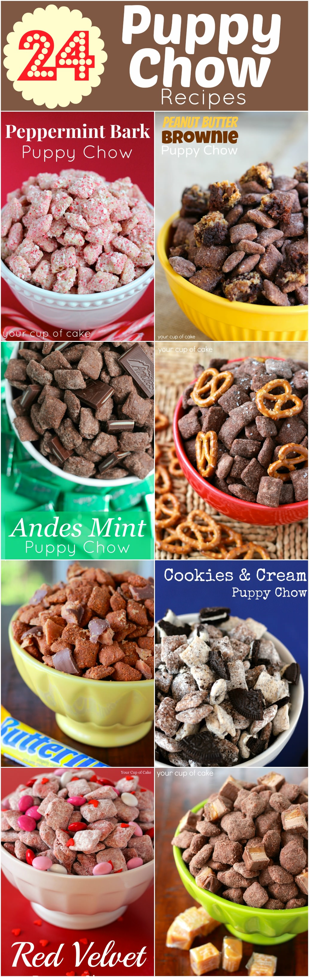 24 Puppy Chow Recipes Your Cup Of Cake