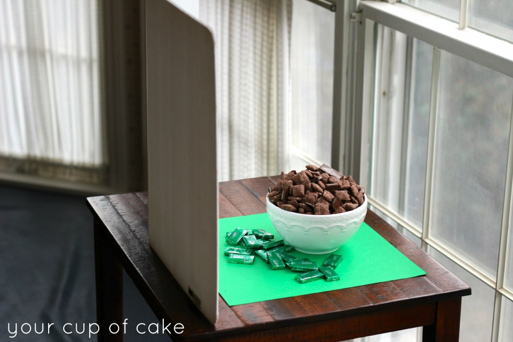 Andes Mint Puppy Chow recipe