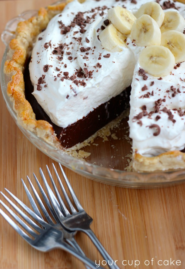 Banana Chocolate Pie