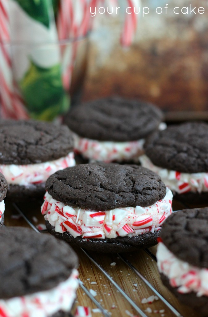 Candy Cane Whoopie Pies