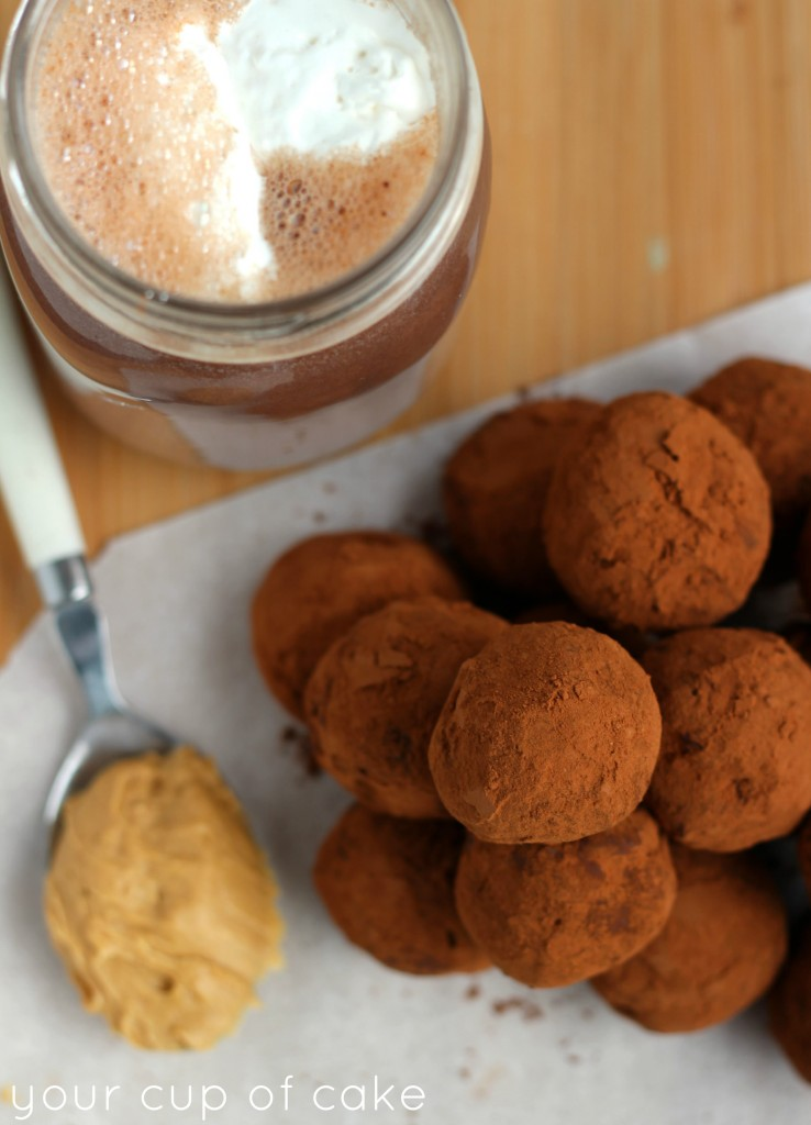 Peanut Butter Hot Chocolate Truffle