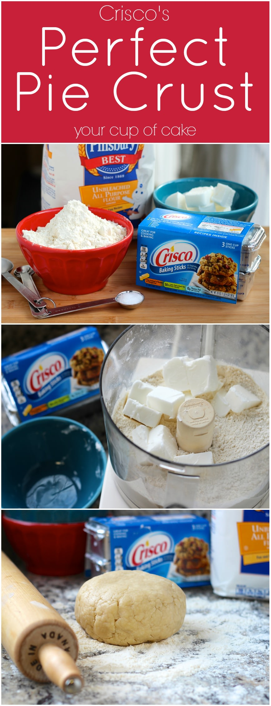Perfect Pie Crust and Giveaway! - Your Cup of Cake
