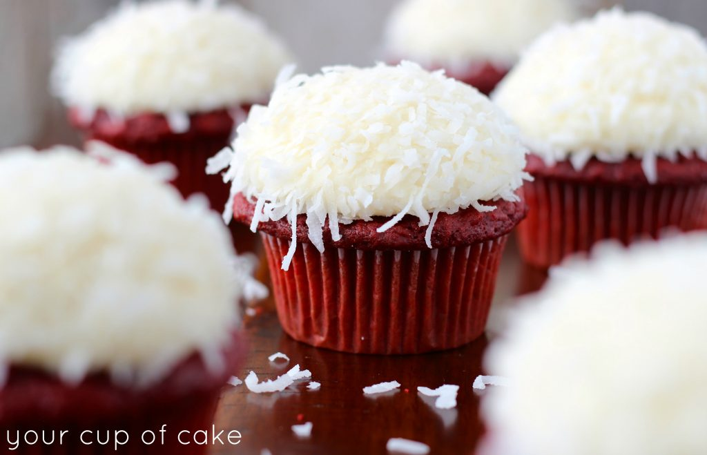 Red Velvet Cupcakes With Yellow Cake Mix
