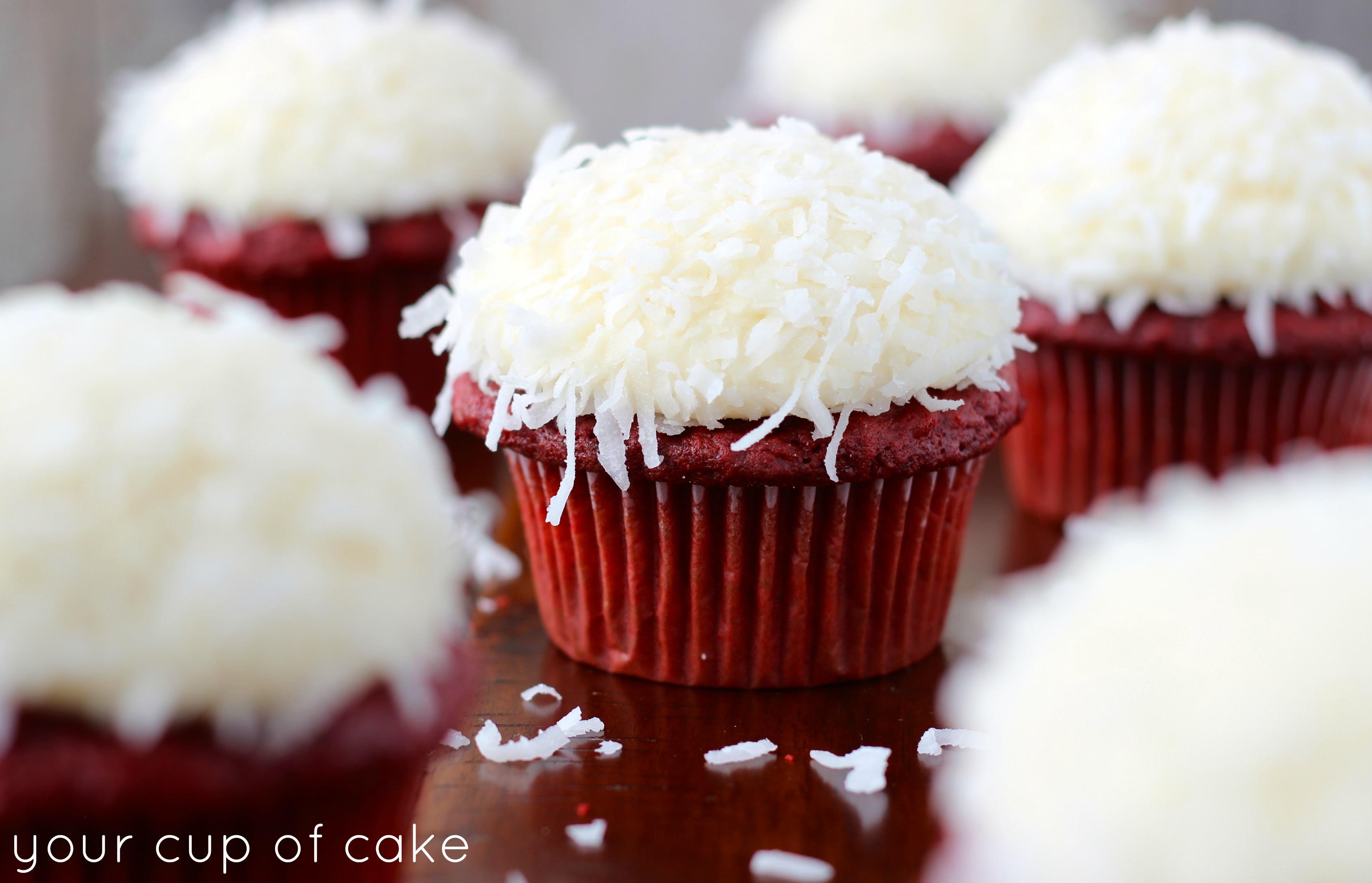 red red velvet cupcakes
