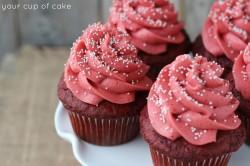 Double Red Velvet Cupcake
