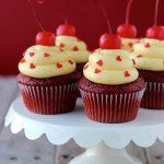 Red Velvet Cake Batter Cupcakes