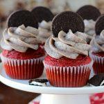 Oreo Red Velvet Cupcakes