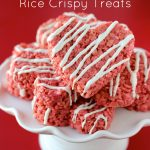 Red Velvet Rice Crispy Treats