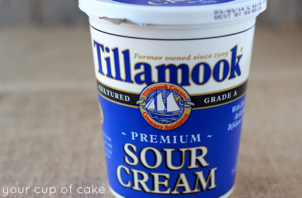 baking with tillamook sour cream
