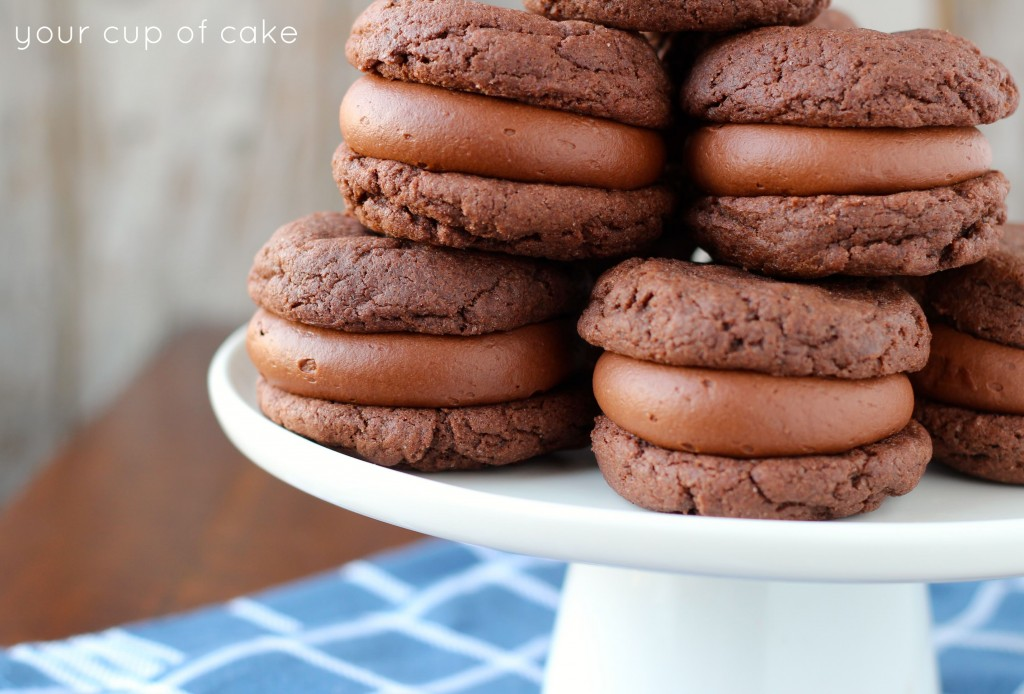 Double Chocolate Whoopie Pies