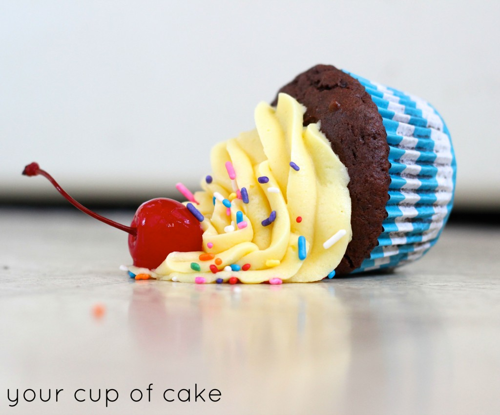 Dropping a Cupcake