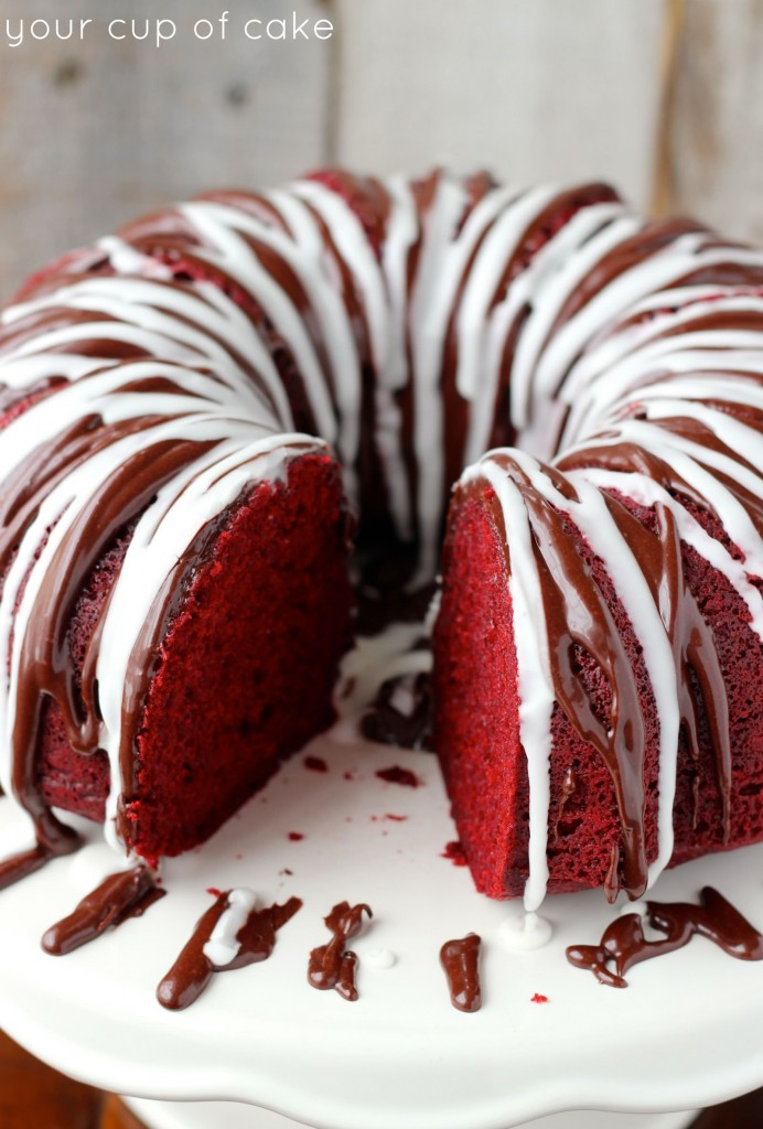 Red Velvet Sour Cream Bundt