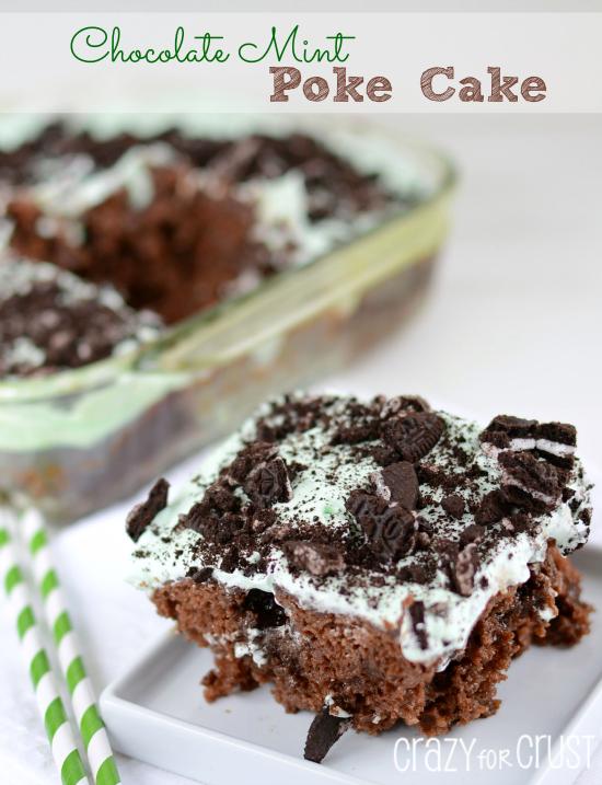 Chocolate-Mint-Poke-Cake