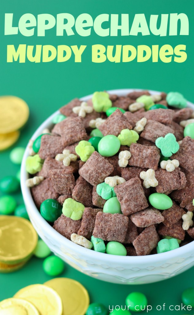 Leprechaun Muddy Buddies Recipe