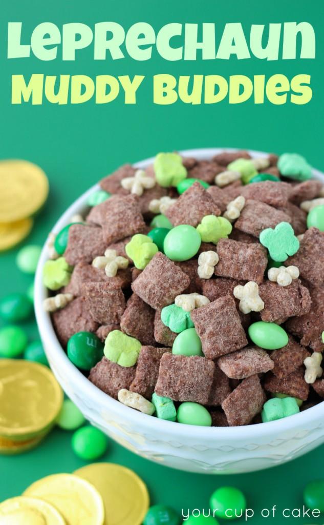 Leprechaun Muddy Buddies Recipe