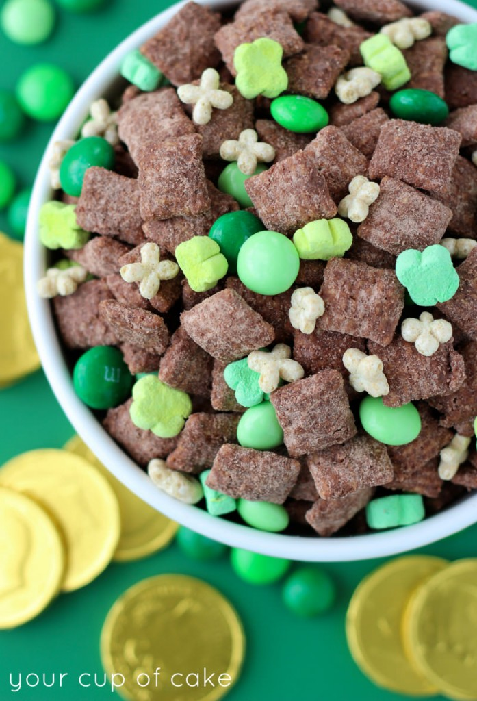 St Patricks Muddy Buddies