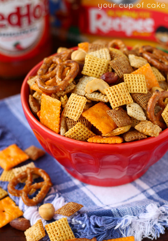 Sweet and Spicy Chex Mix Recipe