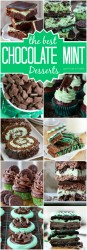 The Best Chocolate Mint Desserts