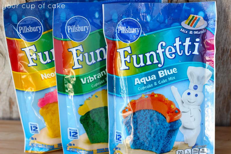 Funfetti mixes
